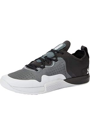Under Armour Men's TriBase Thrive 2 Cross Trainer, Pitch Gray/Black/Halo Gray (100), 9.5