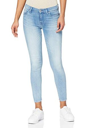 7 for all Mankind The Crop Skinny Jeans voor dames.