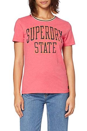 Superdry State Ringer Entry Tee T-shirt voor dames