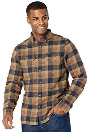 Fjällräven Fjallraven Heren Singi Heavy Flannel Shirt M Long Sleeved T, Dark Sand, M