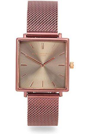 Elie Beaumont Analoog voor dames Japanse Quartz Horloge met RVS Band EB818.8