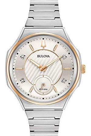 BULOVA Kwarts horloge met roestvrij stalen armband 98P182