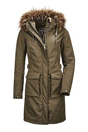 G.I.G.A. DX by killtec Dames Burzowy Wmn Softshell Ct A Casual Softshell Jas met afritsbare capuchon