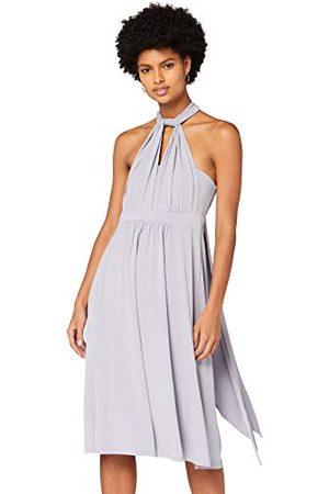 TRUTH & FABLE Amazon-merk - Multiway Midi-jurk voor dames, (Dapple Grey), 16, Label:XL