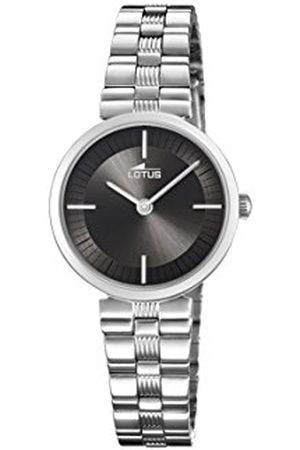 Lotus Lotus Horloges Womens Analoog Klassieke Quartz Horloge met RVS Band 18541/2