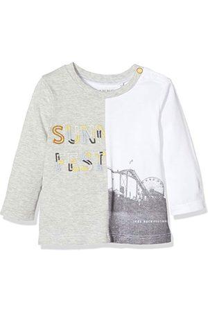 IKKS T-shirt Bi motief lange mouwen baby jongens - - 6-9 mois