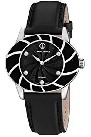 Candino Womens Analoog Klassiek Quartz Horloge met Lederen Band C4465/2
