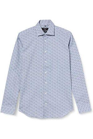 Seidensticker Zakelijk overhemd voor heren, gemakkelijk te strijken overhemd met zeer smalle snit, X-Slim Fit, lange mouwen, Kent-kraag, 100% katoen