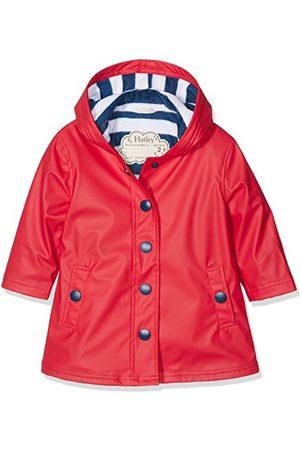 Hatley Meisje Splash Jacket-Rode Regen