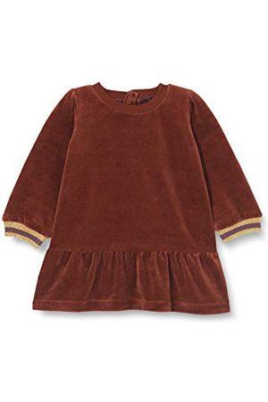 Noa Noa Babymeisjes fluweel jersey jurk