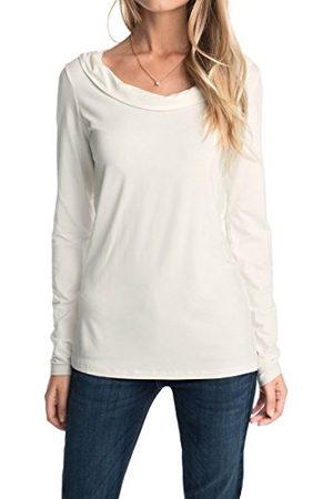 Esprit Shirt met lange mouwen voor dames met waterval uitsparing
