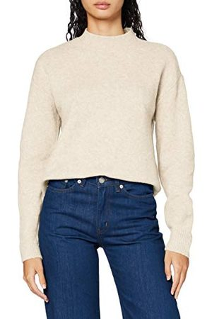 Pieces Dames Pcskyla Ls O-neck Wool Knit Pullover