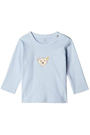 Steiff Baby - jongens T-shirt lange mouwen met pluizig teddybeermotief