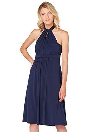 TRUTH & FABLE Amazon-merk - Multiway Midi-jurk voor dames, (donkermarine), 20, label:3XL