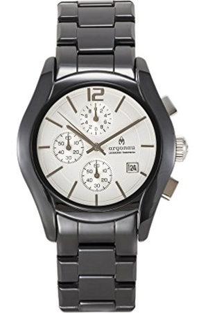 Argonau Unisex Adult Analoog Klassiek Quartz Horloge Met Keramische Band Au1500