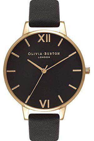 Olivia Burton Dames Analoog Kwarts Horloge met Lederen Armband OB15BD55, /