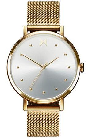MVMT Dames analoog kwarts horloge met roestvrij stalen armband 28000034-D