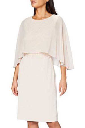Gina Bacconi Devra jurk voor dames met chiffon overtop moeder van de bruid