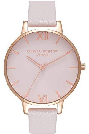 Olivia Burton Vrouwen analoog Japans Quartz horloge met lederen band OB16BD95