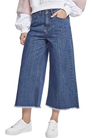 Urban classics Denim culotte broek voor dames
