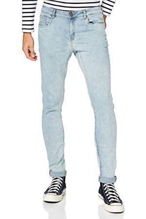 Urban classics Slim Fit Zip Jeans voor heren