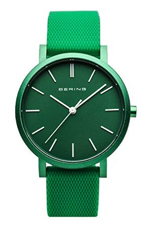 Bering Unisex analoog kwartshorloge met siliconen armband 16934-899