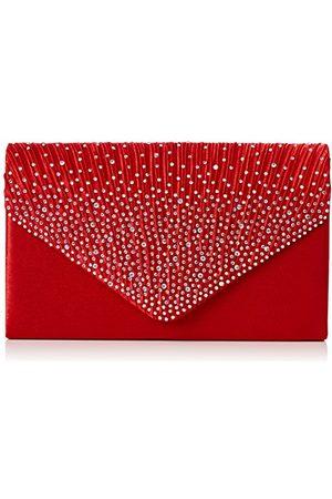 Swankyswans CLUTCH-41074-RED, Koppeling Vrouwen Eén maat