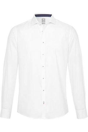 Pure Heren 3388-788 City Silver Longsleeve Klassiek overhemd, Uni lichtblauw, XS