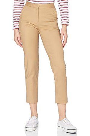 Tommy Hilfiger Slim Slub Cotton Ankle broek dames
