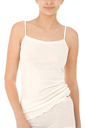 Calida Dames True Confidence Spaghetti-top onderhemd van scheerwol en zijde, verkoelend of verwarmend