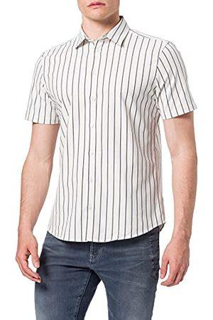 Casual Friday Anton Ss gestructureerd Y/D overhemd voor heren