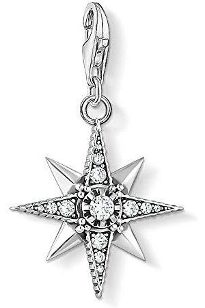 Thomas Sabo Damesbedelhanger Royalty ster zwart 925 sterling 1756-643-14