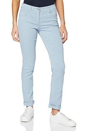 Atelier Gardeur Dames Slim Jeansbroek Zuri,Blau 62,38 NL Lang