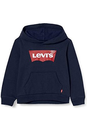 Levi's Kids Lvb Batwing Screenprint hoodie voor jongens - blauw - 8 ans