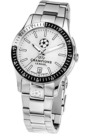 Jacques Lemans UEFA Champions League U-30E Metalen Armbandhorloge voor heren