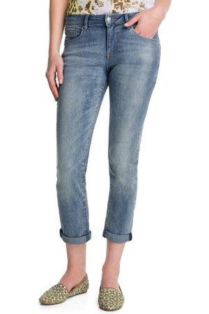 Esprit Dames jeans R80051 Skinny/slim fit (groen) normale band