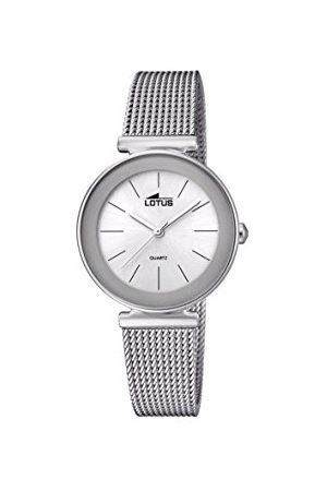 Lotus Dames analoog kwarts horloge met roestvrij stalen armband 18434/1