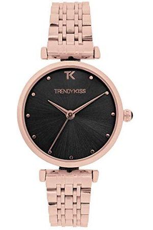 Trendy Kiss Dameshorloge, analoog, kwarts, met stalen armband, TMRG10137-03
