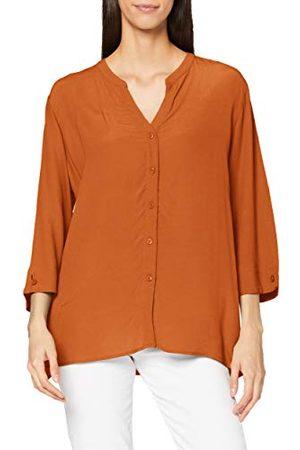 Esprit Brede blouse met 3/4 mouwen, Rust Brown, 44 NL