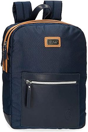 El Potro Chique rugzak Porta Tablet blauw 26 cm polyester