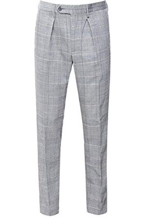 Hackett Heren Washed Wool Pow Straight Jeans