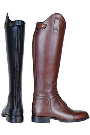 HKM Sports Equipment HKM volwassen rijlaarzen Spain, zacht leer, kort/standaard breedte 9100 zwart36 broek, 9100 , 36
