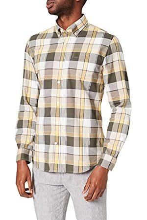 Cortefiel Overhemd, geruit, Oxford-katoen, voor heren.