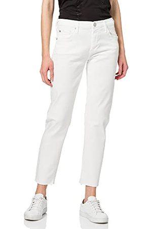 True Religion Dames Liv Boyfriend White Denim Jeans