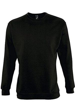 Sols New Supreme Unisex sweatshirt, zwart, T XS