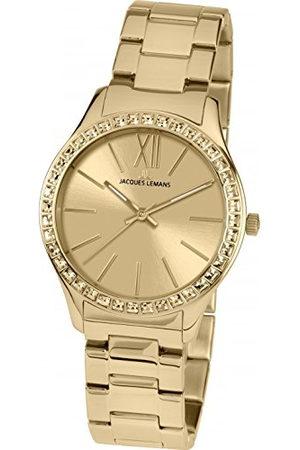 Jacques Lemans Dames analoog kwarts horloge met roestvrij stalen armband 1-1841ZC
