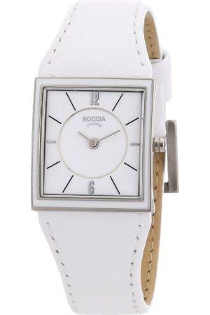 Boccia Dameshorloge met lederen armband Trend 3148-03