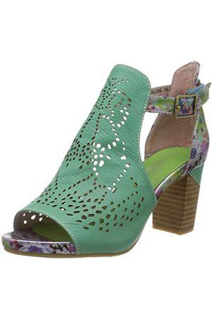 LAURA VITA BECRNIEO 2301, open sandalen met sleehak dames 39 EU