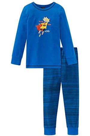 Schiesser Jongens raad Henry Kn pak lang tweedelige pyjama