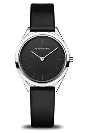 Bering Dames Analoog Quartz Horloge Met Roestvrij Stalen Armband 17031-402